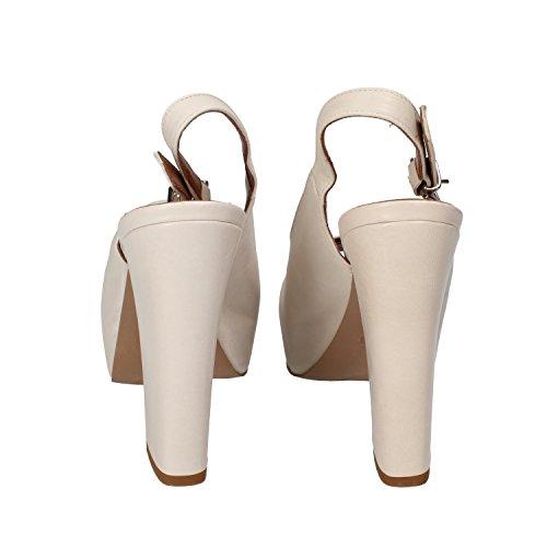 JEANNOT EU 40 sandali donna grigio pelle DZ203