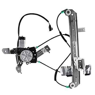 A-Premium Power Window Regulator and Motor Assembly for Chevrolet Tahoe GMC Yukon 2000-2006 Cadillac Escalade Rear Left Driver Side: Automotive