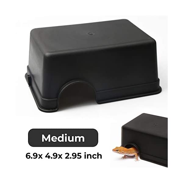 Reptile Hide Box Feel Secure and Safe Gecko Hide Durable MaterialEasy to CleanSnake Hide Box 1