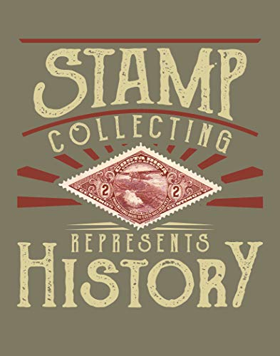 Ramini Brands Stamp Collecting Represents History - Wall Artwork - 11 x 14 Unframed Print - Great Gift for Postage Stamp Collectors, Mailman and Philately Lovers - Postal Office, Mancave Decor