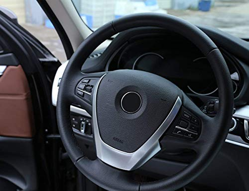 ABS Matte Steering Wheel Cover Trim for BMW X3 X4 X5 F15 F25 F26 2014-2016