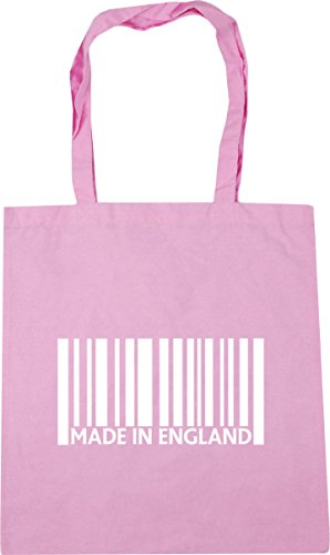 Bag Classic in 42cm Made Pink 10 Tote Gym Beach Shopping England litres x38cm HippoWarehouse a0xnpAp