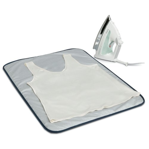 (Household Essentials 129 Portable Ironing Blanket Mat-Heat Resistant-Grey)