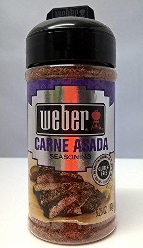 Weber Grill Seasoning Carne Asada, 5.25 Ounce
