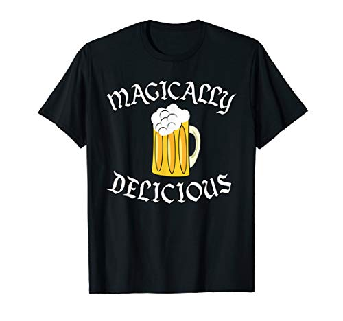 Funny St. Patrick's Day T-Shirt Magically Delicious Beer