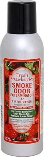 Smoke Odor Exterminator Fresh Strawberries Aerosol Spray