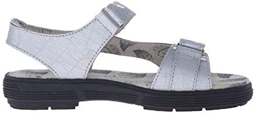 Golfstream Women's Two Strap Sandal Golf Shoe, Tuscany Faux Crocodile/Silver, 5 M US by Golfstream (Image #7)