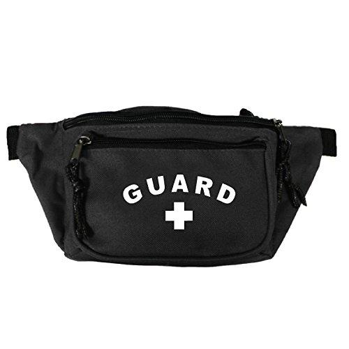 Standard Guard 3-Pocket Hip Pack in Black