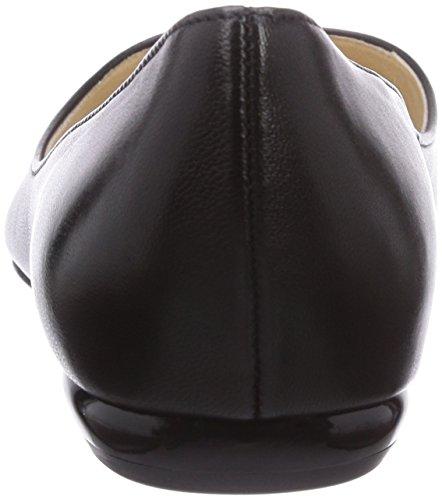 Högl 9-100000 - Bailarinas de cuero para mujer negro - Schwarz (0100)