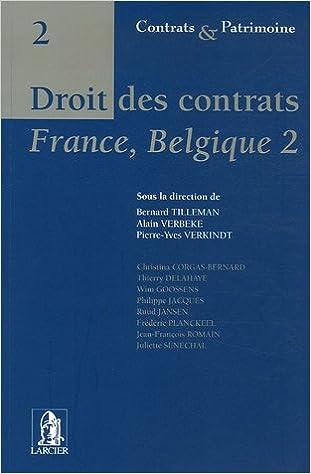 Lire en ligne Droit des contrats : France-Belgique 2 pdf, epub ebook