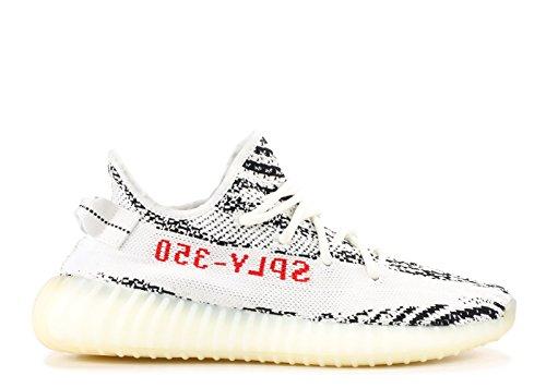 Adidas Yeezy Boost 350 V2 Zebra - WHITE/CBLACK/RED Trainer White