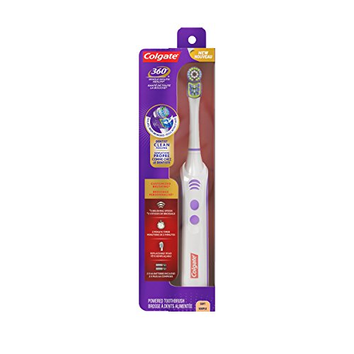 Clean Power Toothbrush - Colgate Power Clean Battery Powered Toothbrush, Soft