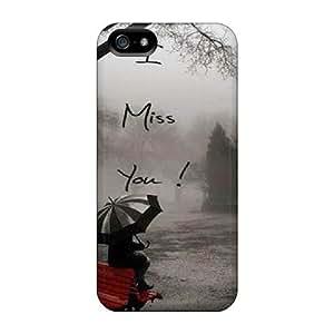 For Iphone 5/5s Premium Tpu Case Cover Miss U Protective Case