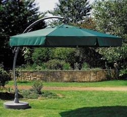 Sun Garden Easy Sun Ampelschirm 350/8 tlg grün