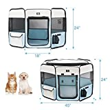 X-ZONE PET Portable Foldable Pet Dog Cat Playpen