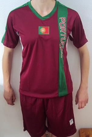 Short Portugal   neu Fußball Kleinkinder Set Trikot