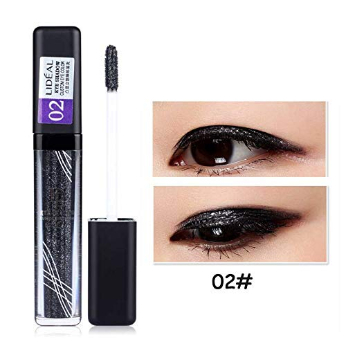 Makeup Long Lasting Waterproof Pigments Eyeshadow Glitter Make Up Eye Shadow Liquid Shimmer Stickers by YHDBH (Image #1)