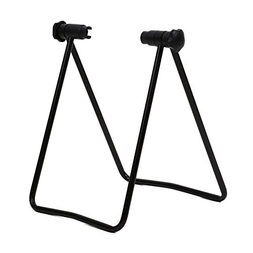 Auntwhale Bicycle Hub Folding Display Repair Tune Up Stand Support Rack Tool Portable For MTB BMX Mountain Road Cycling Gift
