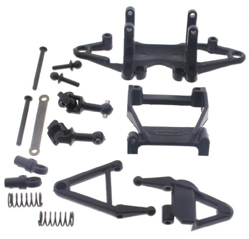 HPI 1/18 Micro RS4 SUSPENSION ARMS FRONT SHOCKS & DRIVE SHAFTS HINGE PINS MOUNT -