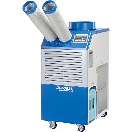 Industrial Portable AC, 1.5 Ton w/Cold Air Nozzles 16,800 BTU, 115V