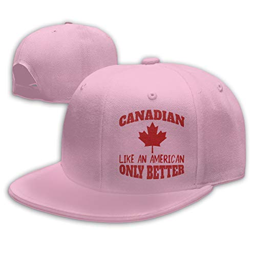 Adjustable Sports Plain Baseball Cap, Canadian Only Better Solid Twill Hat, Unisex