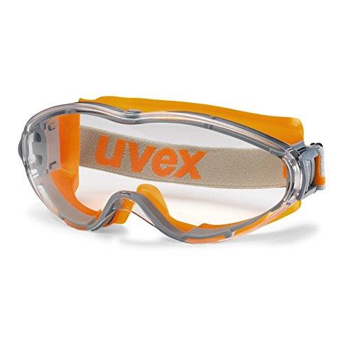 UVEX Vollsicht-Schutzbrille ultrasonic orange-grau