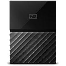 WD 2TB Black My Passport Portable External Hard Drive - USB 3.0 - WDBYFT0020BBK-WESN