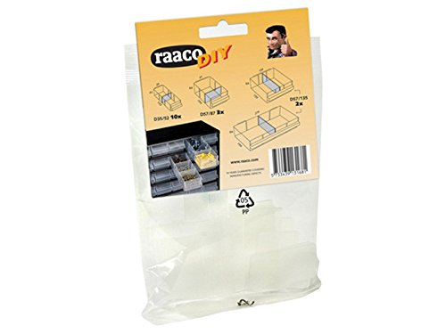 RAACO 131681 DIVIDERS, 15 MIXED PACK