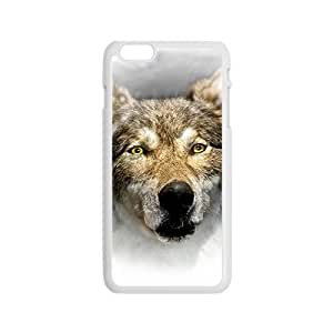 The Wolf Hight Quality Plastic Case for Iphone 6