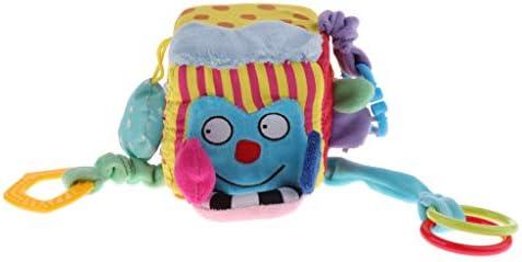 ハンドルデザイン ぬいぐるみ ブロック キューブラトル 幼児 赤ちゃん用 おもちゃ