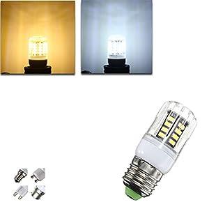 Lights & Lighting - G9/E14/E27/B22/Gu10 4w 30 Smd 5733 Led Cover Corn Light Lamp Led Bulb Ac 220v - Glow Plug Life Factory Cafe Cool White Long Ceiling Light Fairy Garden Corn - 42 - 1PCs