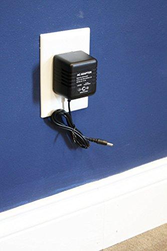 Motion Activated AC Adapter Hidden Camera Self-Recording Spy DVR - 32 GB capacity Model by KJB