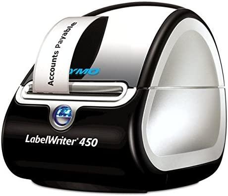 DYMO LabelWriter 450 - Impresora de etiquetas (600 x 300 DPI, 51 Ipm, USB 2.0, De serie, 127 mm, 187 mm, 134 mm)