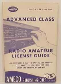Amateur guide license radio