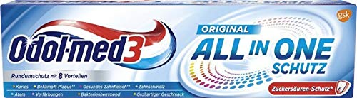 Odol-Med 3 All-in-One Toothpaste -75 ml- Made in Germany