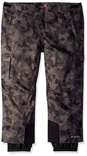 (Columbia Men's Ridge 2 Run Ii Big & Tall Pants, Black Camo Lines Print, XLTxR)