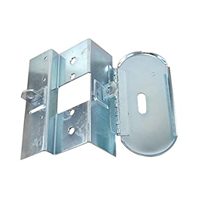 Temporary Construction Jobsite Hasp Lock For In/Out Swing And Double Doors