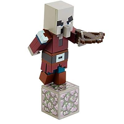 Minecraft Comic Maker Villager Action Figure: Toys & Games