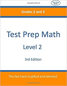Book Test Prep Math: Level 2