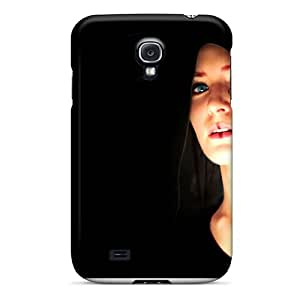 Hot Design Premium WSaUXrQ1734PZwti Tpu Case Cover Galaxy S4 Protection Case(black Lady)