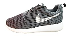 Nike Womens Roshe One Eng Running Trainers 833818 Sneakers Shoes (Us 7.5, Dark Grey White 011)