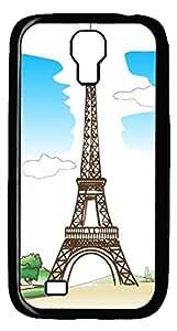 Samsung Galaxy S4 I9500 Black Hard Case - Eiffel Tower Galaxy S4 Cases