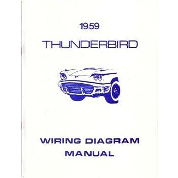 1959 ford thunderbird wiring diagrams schematics
