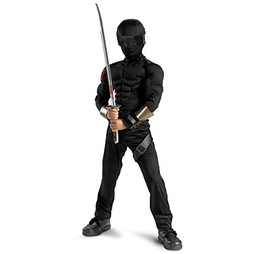 Snake Eyes Classic Muscle Costume - (Snake Eyes Bodysuit Teen Costumes)