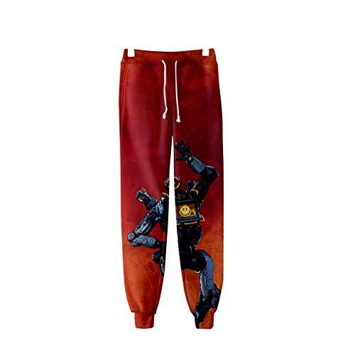 Hommes Numérique Pantalon Absorbant Et Moimk Impression 8 3d Sueur Pour Apex Femmes La 2xs Legends Respirante Unisexe 1qqxztX