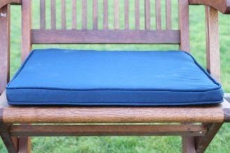 uk gardens navy blue garden furniture chair cushion seat pad for folding garden chairs - Garden Furniture Cushions Uk