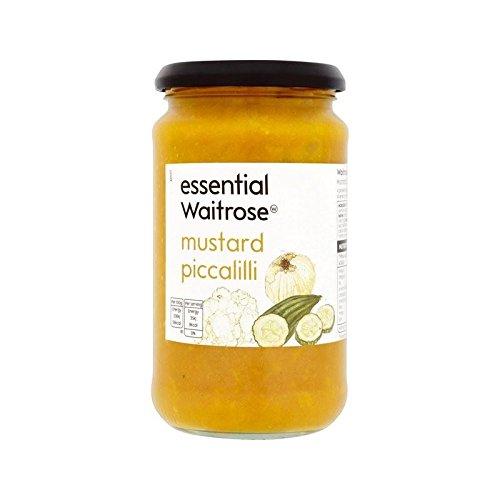 Mustard Piccalilli essential Waitrose 460g - Pack of 6