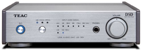 TEAC UD-301-S Reference 301 D / A converter dual mono configuration hi-res sound source corresponding Silver by Teac