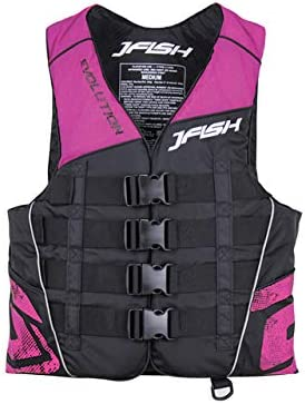 【JCI予備検査承認】J-FISH(ジェーフィッシュ) 2020年モデルEVOナイロンベスト・ピンク