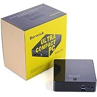 Berwick M1G Mini pc Ultra Compact PC Intel Skylake I5-6200U Ubuntu16.04 8G DDR3L 128G Samsung SSD 802.11AC WIFI Gigabit LAN HDMI USB 3.1 (i5-6200U+8G DDR3+120G SSD)